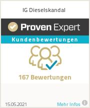 Unsere Bewertungen auf ProvenExpert